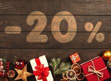 Réduction de 20% sur les achats en seconde main