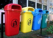 Tri des déchets : où jeter quoi? Photo: Patrick sur wikipedia [CC BY-SA 3.0]