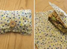 Fabriquer un emballage alimentaire réutilisable en tissu et cire d'abeille