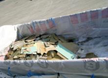 On ne peut pas se débarrasser de ses déchets d'amiante n'importe comment