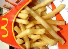 19 ingrédients dans les frites !