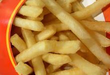 Du silicone dans les frites !