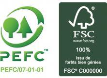 Labels PEFC et FSC