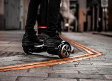 Où et comment rouler en hoverboard, trottinette électrique, gyroroue... ? Photo: urbanwheel.co [CC-BY]
