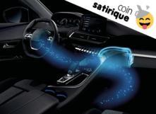 Diffuseur de parfum intégré à la voiture