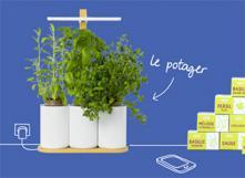 Le potager connecté : un objet inutile mais bien marketé