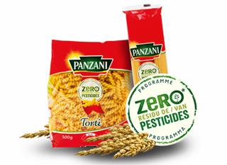 "Les pâtes ""zéro"" pesticides"