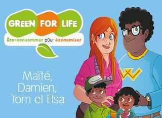 Maïté et Damien économisent grâce à Green For Life