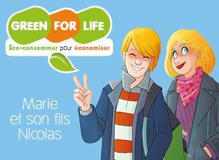 Marie économise grâce à Green For Life