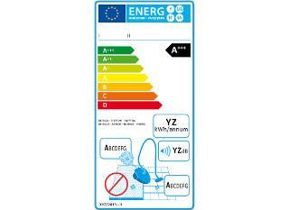Etiquette énergie aspirateurs