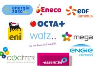 Fournisseurs d'énergie en Wallonie