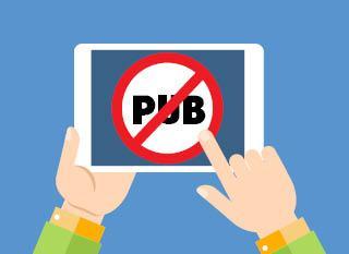 Les bloqueurs de pub ont de plus en plus de succès. Image: adaptation de Cloud Computing de Rosapuchalt sur Freepik - http://www.freepik.com/free-vector/cloud-computing_815706.htm