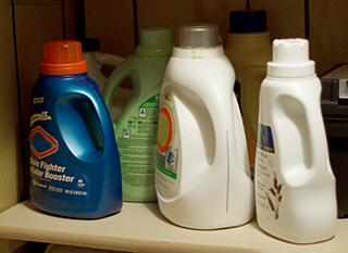 Où jeter les emballages des produits d'entretien et des cosmétiques ?