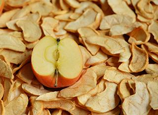 Sécher des pommes pour les conserver