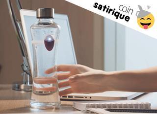 Si vous oubliez de boire, la technologie vous sauvera...