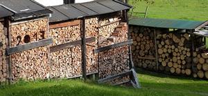 tas de bois - stockage