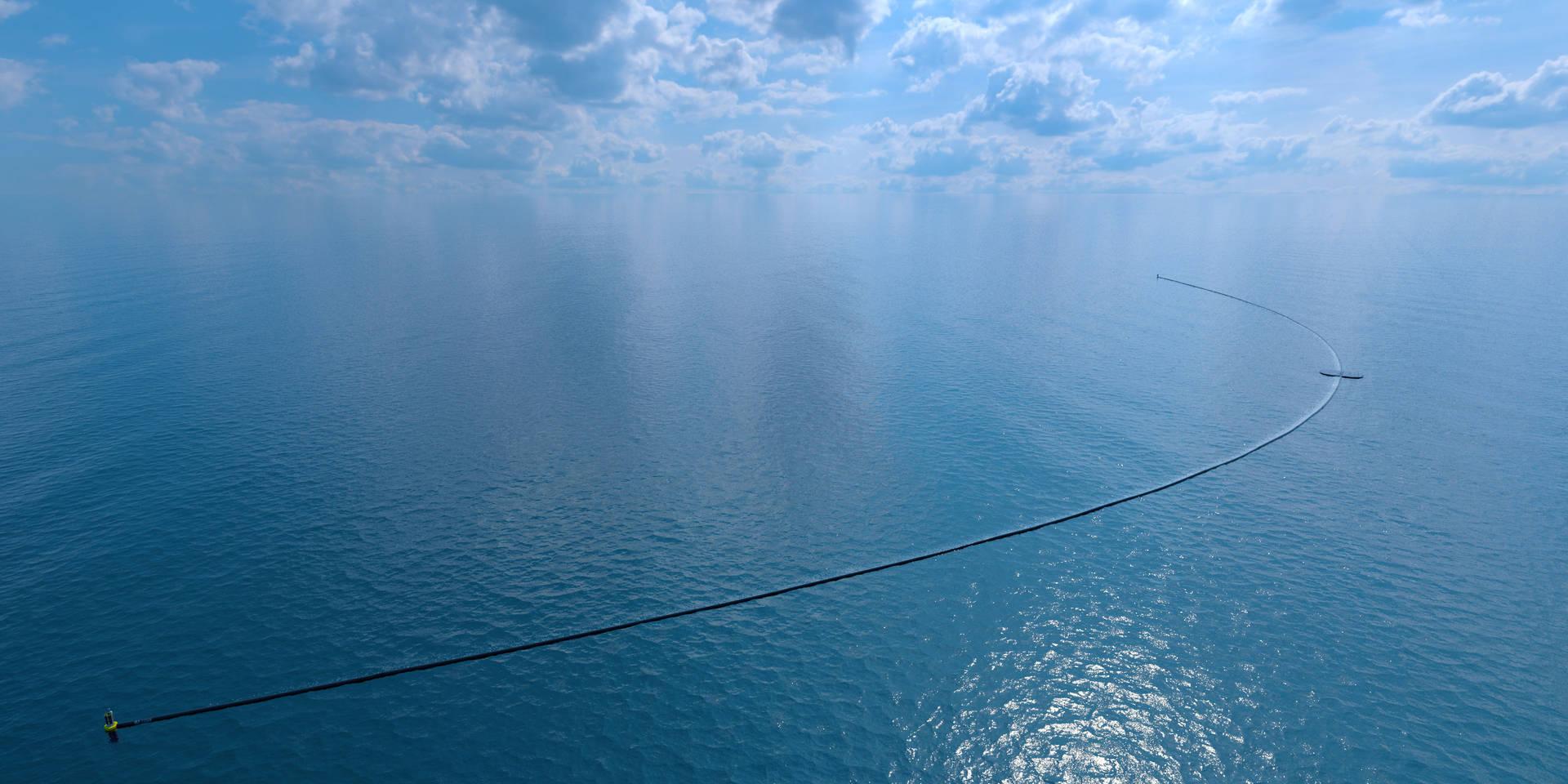 The ocean cleanup pour nettoyer les océans des plastiques